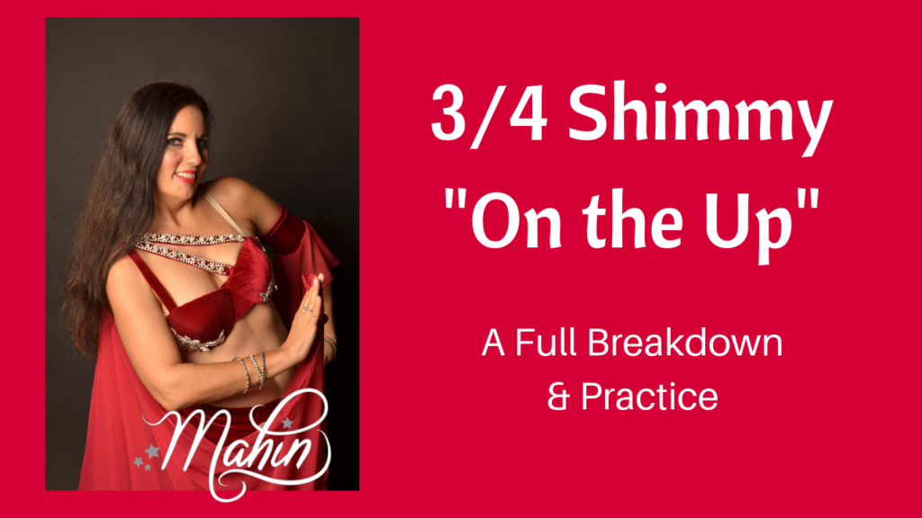 Breaking Down 3/4 Shimmy on the Up