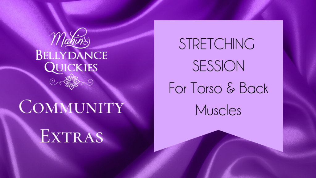 Stretching Session for Obliques & Low Back