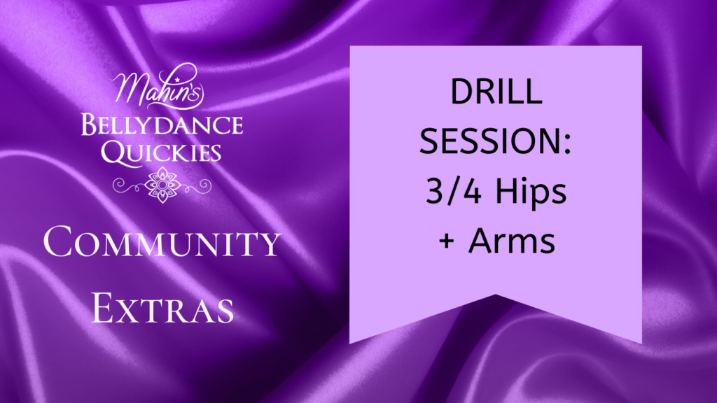 Drill Session: 3/4 Hips + Arms